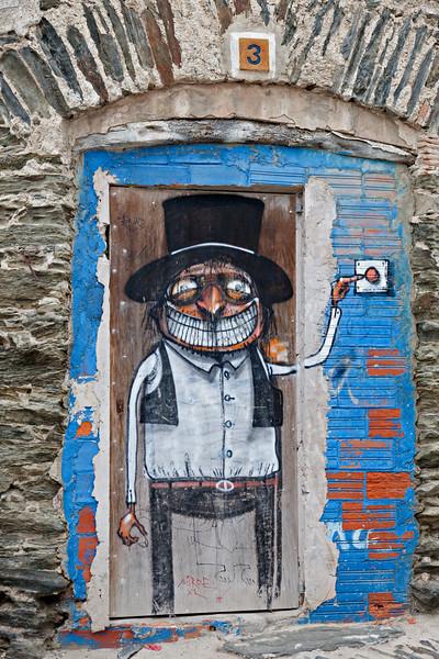 Ring Here,  Cadaqués street art