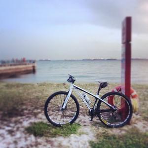 Sunset Ride @ Eastcoast Park Singapore