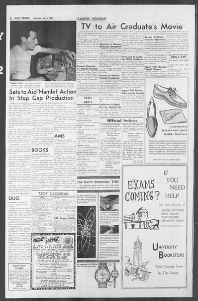 Daily Trojan, Vol. 53, No. 117, May 02, 1962