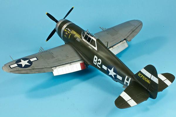 1/48 Tamiya P-47D - Magic Carpet