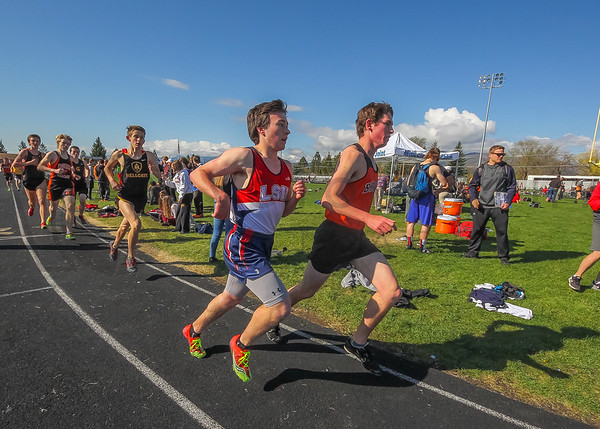 2016 Missoula Invite -  3200m - Boys