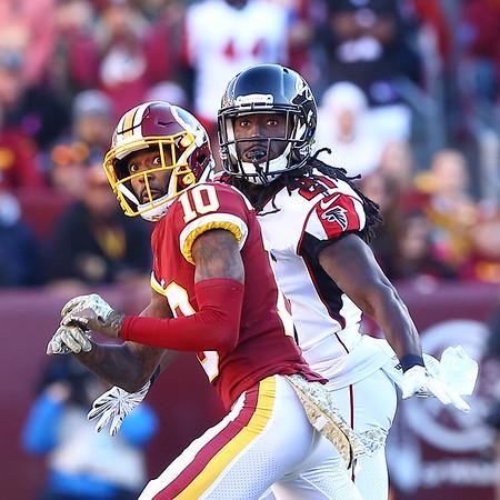 20181104 NFL Football Atlanta Falcons at Washington Redskins
