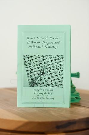Nathaniel's Bar Mitzvah