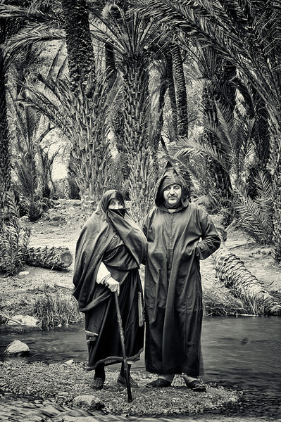 Man and wife in Tlata Tasrite, 