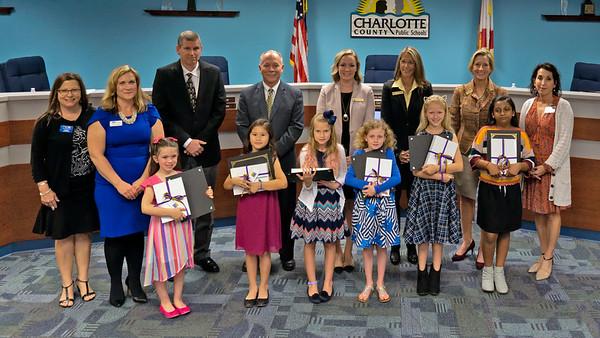 Charlotte County Attendance Awareness Winners