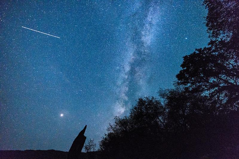 1st Milky Way attempt