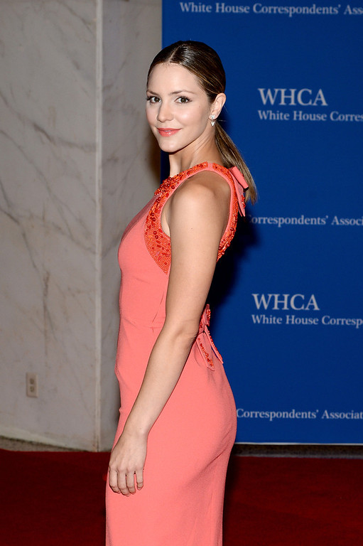 . Actress Katharine McPhee attends the 100th Annual White House Correspondents\' Association Dinner at the Washington Hilton on May 3, 2014 in Washington, DC.  (Photo by Dimitrios Kambouris/Getty Images)