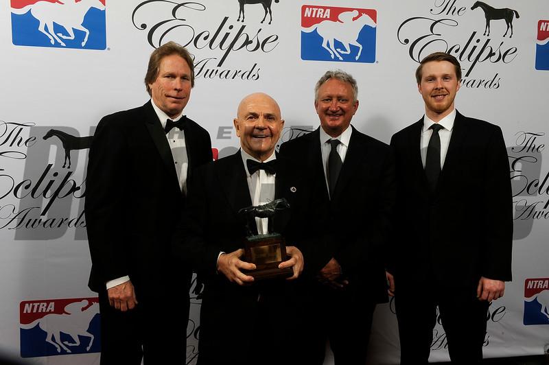 Forever Unbridled wins older female at 2018 Eclipse Awards, Gulfstream Park, FL 1.25.2018