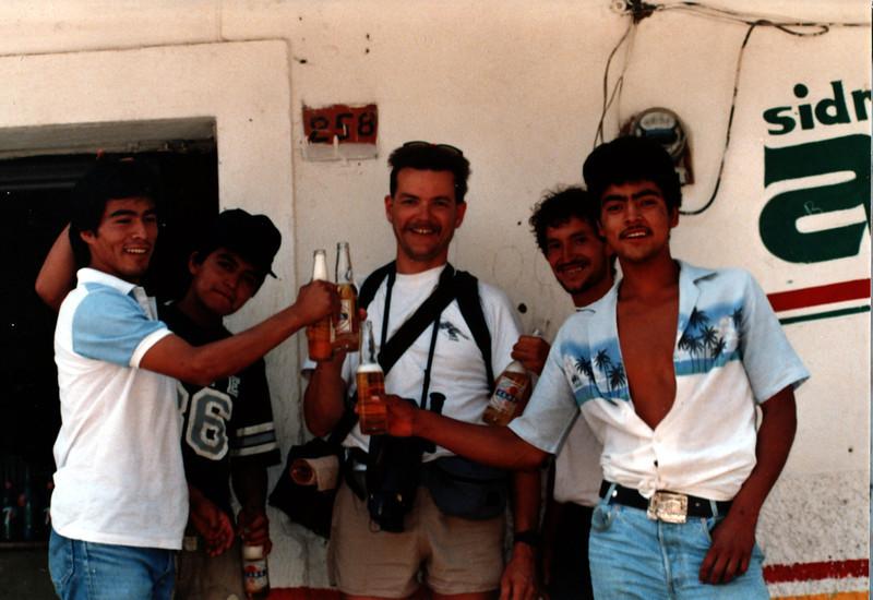 Gary Edberg and friends, Guadalajara, Mexico