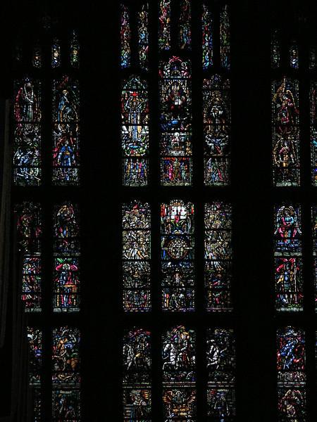 Chapel side window