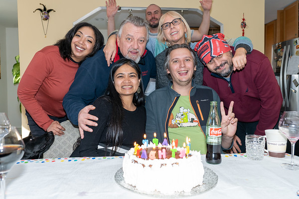 Florin's birthday celebration - March, 2021