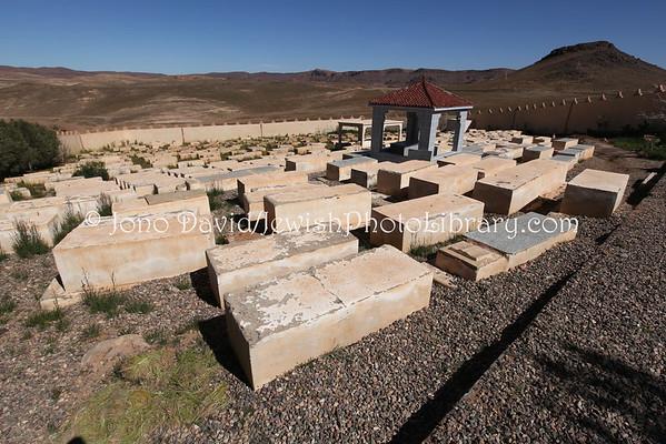 MOROCCO, Tazenakht. Jewish Cemetery (2.2015)