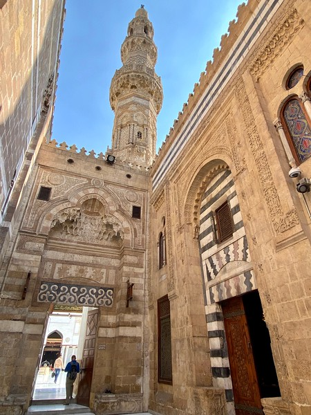 One of the entrances to Al Azhar Mosque