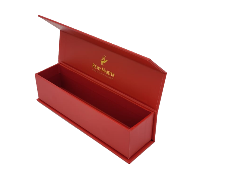 900- Long Red Rectangle Box