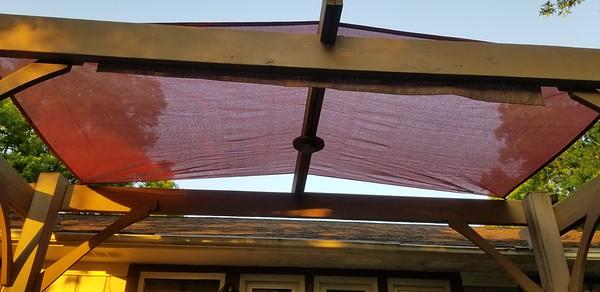 19.97 shade sail. 13x7ft. Costco