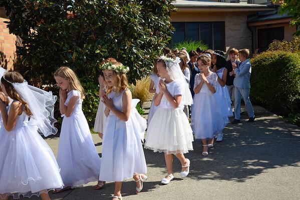2019 1st Eucharist OLF