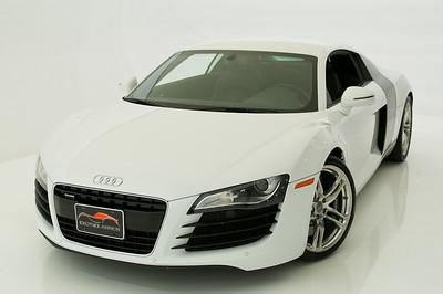 2010 Audi R8 White