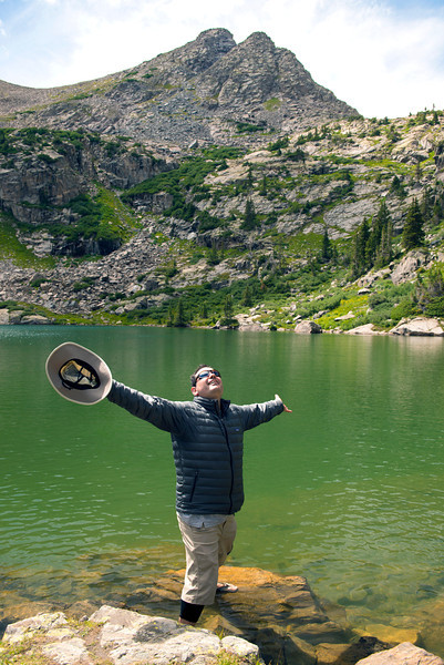 Hugo finds happiness in Colorado (once again)!