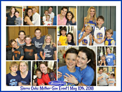 MAY 10TH, 2018   Sierra Oaks Mother-Son Event