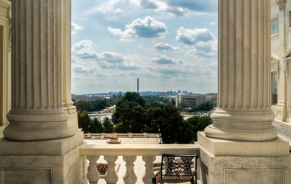 Washington Monument, US Capitol Building