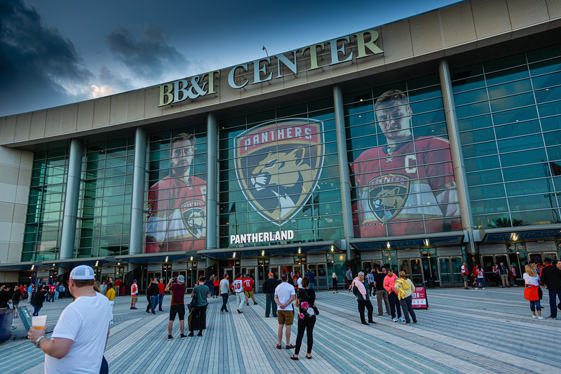 The BB&T Center in Sunrise, FL on Thursday, February 13, 2020 where the Florida Panthers hosted the Philadelphia Flyers. The Flyers went on to beat the Panthers 6-2. [JOSEPH FORZANO/palmbeachpost.com]