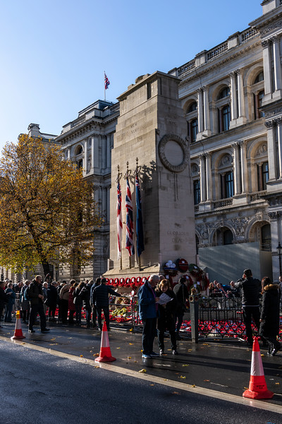 Cenotaph after Prince Chalres and president of Germany laid wreaths.jpg