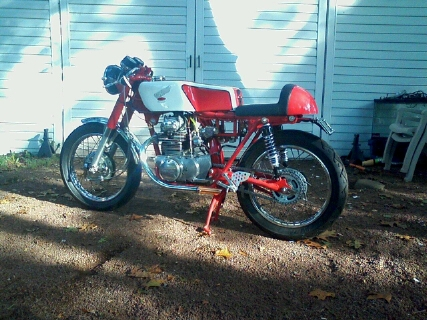 1968 Honda CL350 Cafe Racer Project Bike