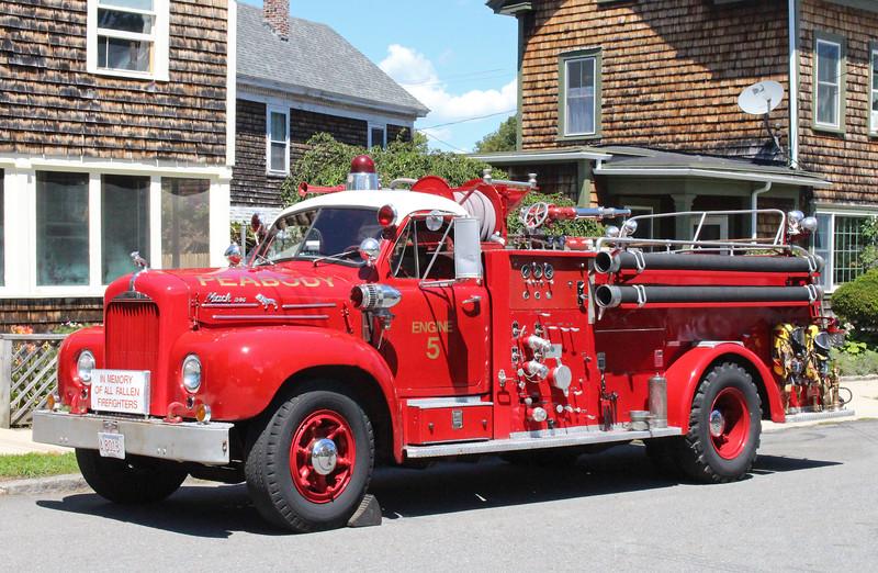 Retired  Engine 5 Mack B