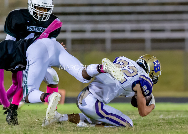 Broughton Varsity football at Southeast Raleigh. October 4, 2019. D4S_5253