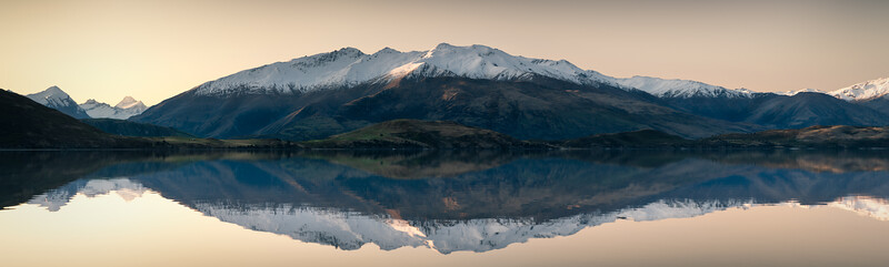 Aspiring to Reflect || Glendhu Bay