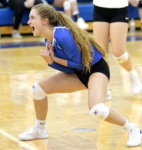 Richmond Heights at Grand Valley volleyball 9-15-20