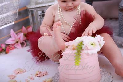 ADILYN'S FIRST BIRTHDAY