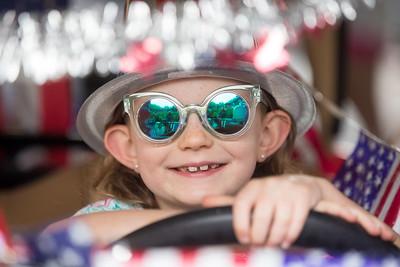Golf Cart Parade from Burton Photography - July 2, 2018