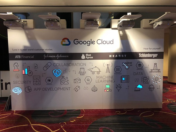 Google Cloud Interactive Wall
