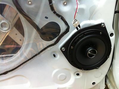 2011 Toyota Tundra CrewMax Rear Door Speaker Installation - USA