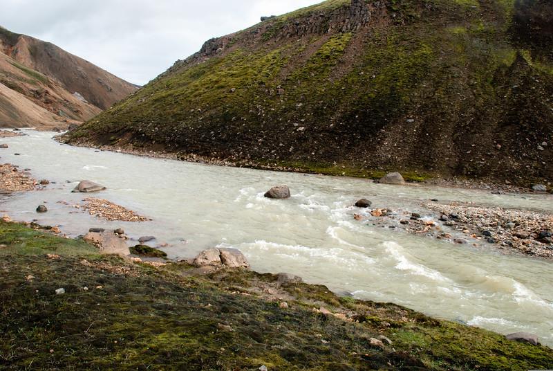 Vaðstaður yfir Ljósánna