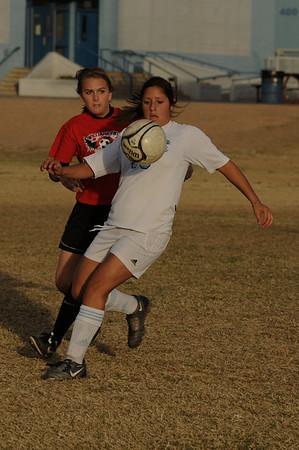 12/10/10 Cactus Girls Var Soccer vs Williams