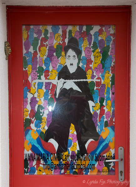 Charlie Chaplin Window