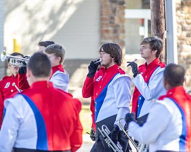 2019-10-12 Bartlett Band at West Memphis