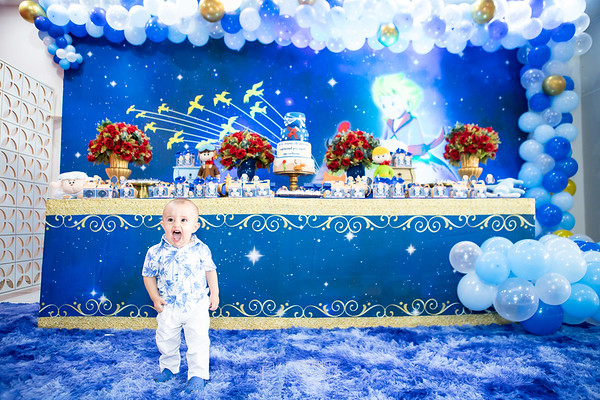 Aniversário 1 aninho Lucas - O Pequeno Príncipe