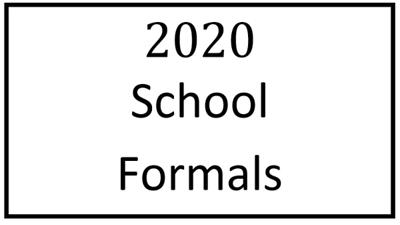 2020 School Formals
