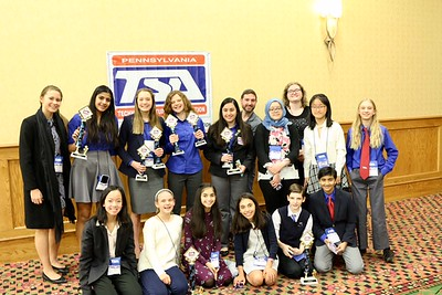 TSA Chapter Participates in State Conference