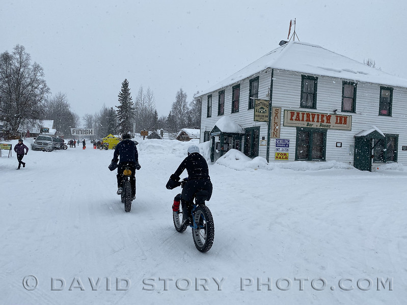 2020 03 07: Heading to the start of the Trio Fatbike World Championships. Talkeetna, AK.