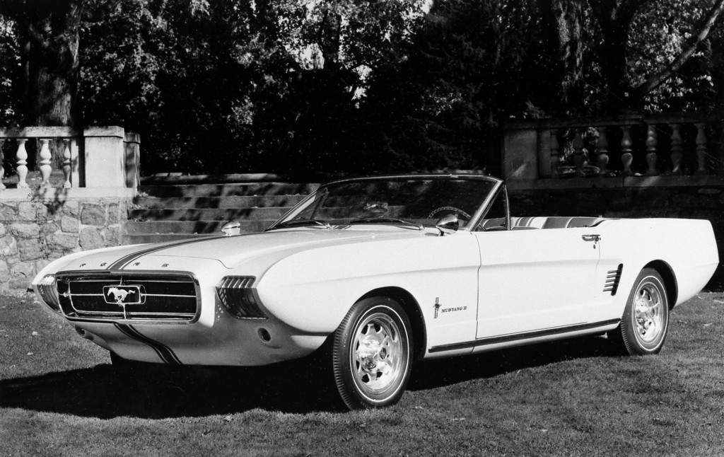 . This is the Ford Mustang II, expected to go into production next year as the Ford Thunderbolt, seen 1963.  (AP Photo)