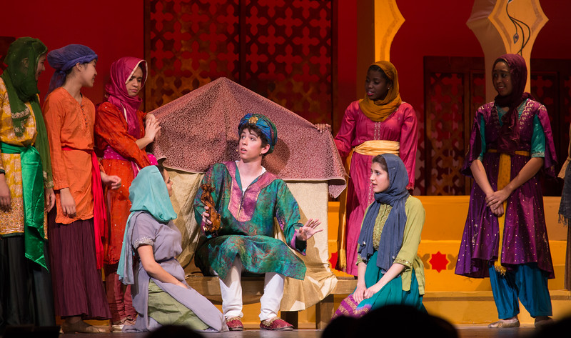 Kismet, Montgomery Blair High School spring musical, April 15, 2016 performance (Silver Spring, MD)