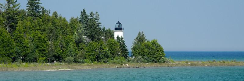 Old Presque Isle MI Light