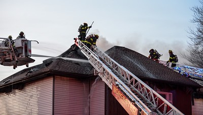 3 Alarm Structure Fire - Westminster St, Worcester, Ma - 2/25/20
