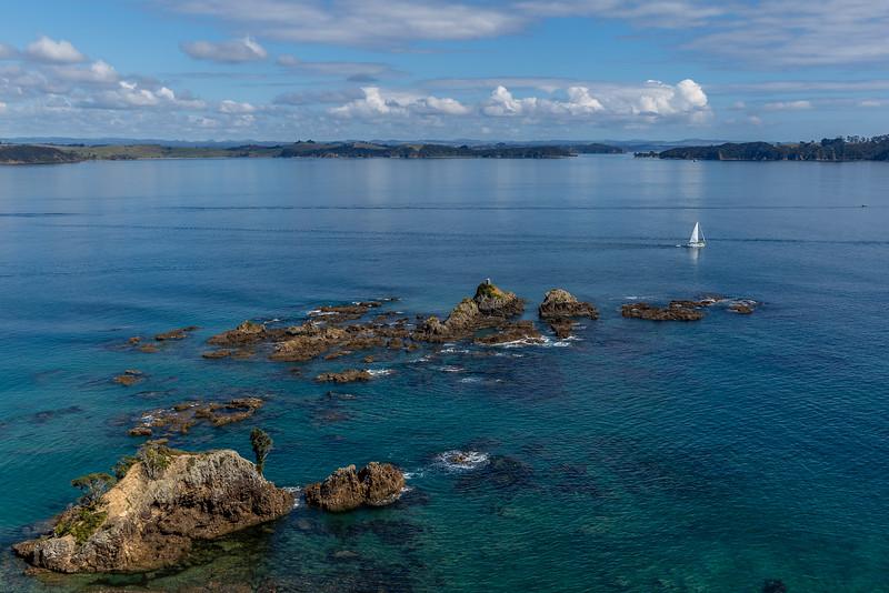Blick auf die Bay of Islands