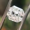 2.39ct Antique Asscher/Square Emerald Cut Diamond, GIA D/IF 4