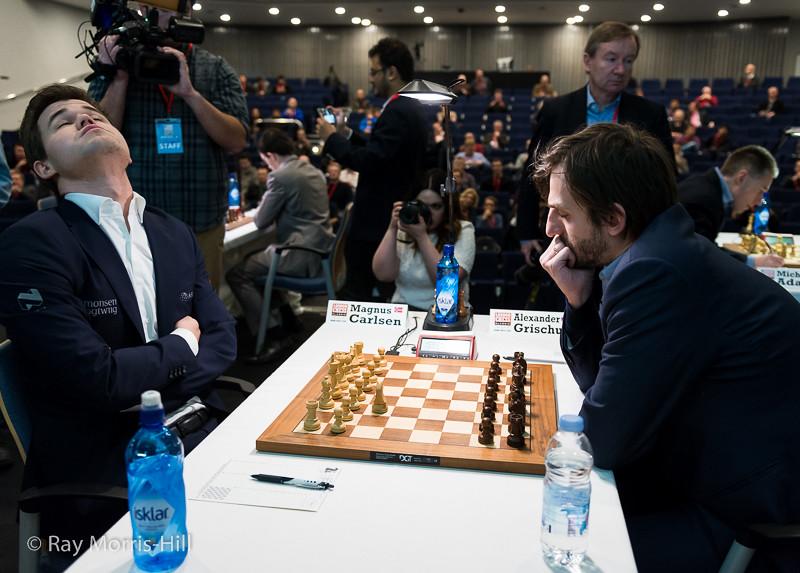 Magnus Carlsen vs Alexander Grischuk